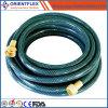 La Mejor Calidad Colorida Trenzada de PVC Reforzado Manguera de Jardín Flexible