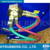 Boyau bon marché de jumeau d'acétylène de l'oxygène de tresse de fibre d'Enpaker