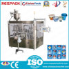 Plastic rotativo Triple Cup Filling e Sealing Machine (RZ-3R)