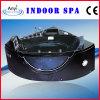 Vasca da bagno acrilica nera di massaggio, vasca da bagno d'angolo della STAZIONE TERMALE (AT-9052TV)