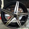 roda preta da liga da roda de carro da roda de face da máquina 20*8.5inch