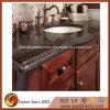 Quartz nero Stone Vanity Top per Bathroom