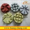 полов диаманта 3  /4  /5  пусковых площадок мрамора полируя прокладывает пусковые площадки смолаы полируя