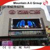 el panel LED de la publicidad al aire libre de 7500CD/Sqm P10