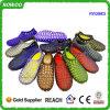 Удобные дешевые Unisex вентилируют ботинки сандалий PVC (RW28803)