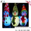Weihnachtsfeld-Schneemann-mini elektrische Plastikkerze