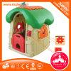 Plattelandshuisje van het Stuk speelgoed van jonge geitjes het Plastic voor Kleuterschool