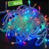 Luz mutável da corda do Natal da cor misturada do RGB para a decoração do Natal
