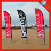 Флаги напечатанные таможней на пляже