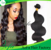 extensão do cabelo humano do cabelo do Virgin de Remy da qualidade superior da classe 7A