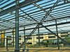 Steel fuerte Structure Workshop con Crane Beam