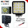 Wholesales Multi Choice Spot/Flood LED Works Lighting Auto Car van Road Boat SUV ATV 48W LED Lights