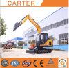 Excavador de múltiples funciones caliente de la retroexcavadora de la correa eslabonada de las ventas CT85 (8.5t)
