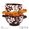 14.5cm Ceramic Bowl con Two Handles Microwave Safe