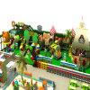 Campo de jogos interno do parque de diversões das crianças da fonte