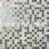 telha de vidro do mosaico do derretimento quente da mistura de 15X15mm Golden&Beige (BGC008)