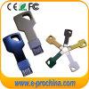 Movimentação chave do flash do USB, memória do USB, movimentação da pena do metal