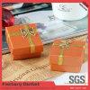 Surtidor de papel de empaquetado de la caja del anillo de la caja de la joyería hecha a mano del regalo
