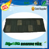 Azulejo de azotea revestido del metal de la mejor piedra de China para la ripia del material para techos
