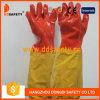 Luva de trabalho DHL510 do PVC do punho longo