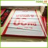 Drapeau résistant de câble de PVC de vinyle de temps extérieur pour la publicité