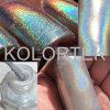 Pigmentos del polvo del brillo de Holo, polvo olográfico del brillo para el clavo