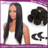 Людские волосы прямых связей с розничной торговлей фабрики волос девственницы шелковистые прямые бразильские