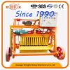 Blocchetto concreto della macchina di deposizione delle uova che rende a macchina la macchina manuale del mattone