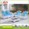 Meubles extérieurs de rotin, meubles extérieurs de rotin blanc (DH-167)