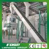 Petite chaîne de production de boulette de cosse du riz 1tph avec le certificat de la CE
