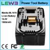 Батарея електричюеского инструмента иона лития для Makita Bl1415
