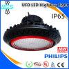 Indicatore luminoso industriale della baia del UFO LED di illuminazione alto con l'UL SAA di TUV