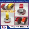 Personalizadas Blanco 6 '' y rojo 6 '' de cinta adhesiva de DOT C2 Conspicuity reflexivo de la seguridad del tráfico