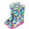 Дешевые ботинки дождя малышей PVC прозрачные
