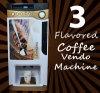 [تبل توب] حارّة قهوة آلة مع 3 نكهات ([ف303ف])