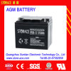 Bateria livre da manutenção acidificada ao chumbo, bateria do AGM de 12V 38ah