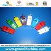 Items promocionales calientes plásticos del silbido del color sólido de la fuente de la fabricación que alertan