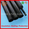 Termo tubo restringibile del nero spesso pesante semirigido della parete