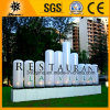 Inflatable su ordinazione LED Light Restaurant Words Column Tubes per Decoration (BMLB85)