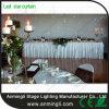 白いLEDの結婚式の段階の柔らかいカーテン
