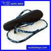 Summer novo Special Straw Mat Slippers para Women