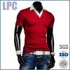 Katoenen van de Manier van de Koker van de douane Korte Retro Duidelijke T-shirt