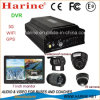 4CH Vehicle Mobile DVR con 3G/4G GPS