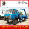 Dongfeng 4X2 Light Duty Swing Arm Garbage Truck su Sale