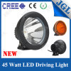 Poder más elevado ambarino del CREE LED Driving Light 45W de Cover