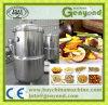 Microplaquetas do vegetal e da fruta que fritam a máquina