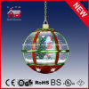 Lampada d'attaccatura di nevicata di natale del Babbo Natale dell'albero di Natale