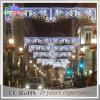 通りまたは休日の装飾ライトのためのLEDのクリスマスの通りのモチーフライトを渡って