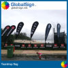 Selling quente 4.5m Flying Banners, Beach Flags para Sale