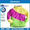 Winter impermeável Outdoor Ski Bomber Jacket com Colorful Fabric